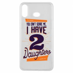 Чехол для Samsung A6s You can't scare me i have 2 daughters