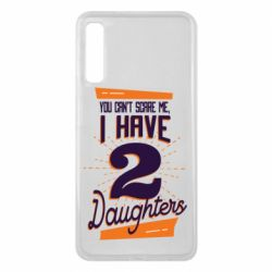 Чехол для Samsung A7 2018 You can't scare me i have 2 daughters