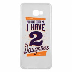 Чехол для Samsung J4 Plus 2018 You can't scare me i have 2 daughters