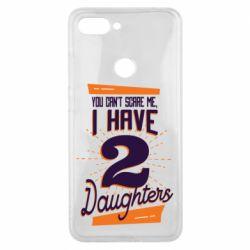 Чехол для Xiaomi Mi8 Lite You can't scare me i have 2 daughters