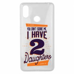 Чехол для Xiaomi Mi Max 3 You can't scare me i have 2 daughters