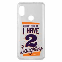 Чехол для Xiaomi Redmi Note 6 Pro You can't scare me i have 2 daughters