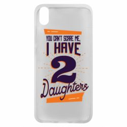 Чехол для Xiaomi Redmi 7A You can't scare me i have 2 daughters