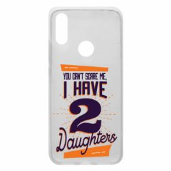 Чехол для Xiaomi Redmi 7 You can't scare me i have 2 daughters