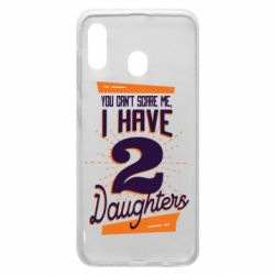 Чехол для Samsung A20 You can't scare me i have 2 daughters