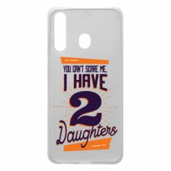 Чехол для Samsung A60 You can't scare me i have 2 daughters