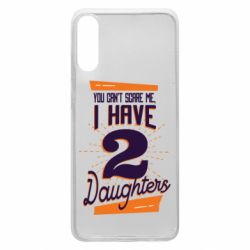 Чехол для Samsung A70 You can't scare me i have 2 daughters
