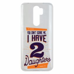 Чехол для Xiaomi Redmi Note 8 Pro You can't scare me i have 2 daughters