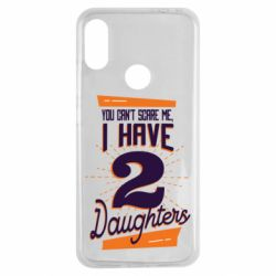 Чехол для Xiaomi Redmi Note 7 You can't scare me i have 2 daughters