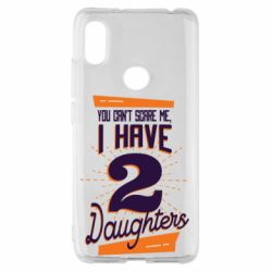 Чехол для Xiaomi Redmi S2 You can't scare me i have 2 daughters
