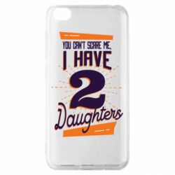 Чехол для Xiaomi Redmi Go You can't scare me i have 2 daughters