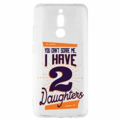 Чехол для Xiaomi Redmi 8 You can't scare me i have 2 daughters
