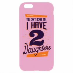 Чехол для iPhone 6 Plus/6S Plus You can't scare me i have 2 daughters