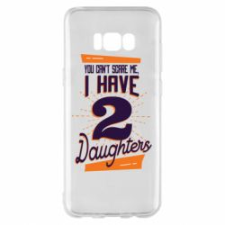 Чехол для Samsung S8+ You can't scare me i have 2 daughters
