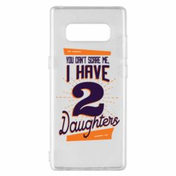 Чехол для Samsung Note 8 You can't scare me i have 2 daughters