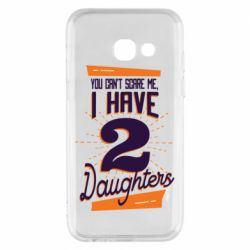 Чехол для Samsung A3 2017 You can't scare me i have 2 daughters