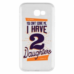 Чехол для Samsung A7 2017 You can't scare me i have 2 daughters