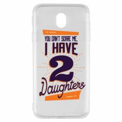 Чехол для Samsung J7 2017 You can't scare me i have 2 daughters