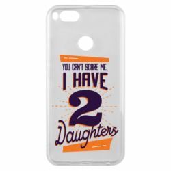 Чехол для Xiaomi Mi A1 You can't scare me i have 2 daughters