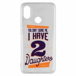 Чехол для Xiaomi Mi8 You can't scare me i have 2 daughters