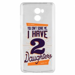 Чехол для Xiaomi Redmi 4 You can't scare me i have 2 daughters
