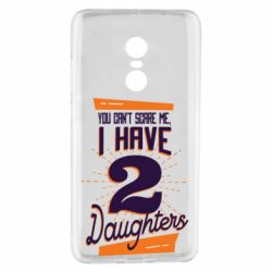 Чехол для Xiaomi Redmi Note 4 You can't scare me i have 2 daughters