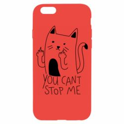 Чехол для iPhone 6/6S You cant stop me