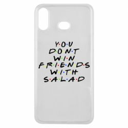 Чохол для Samsung A6s You don't friends with salad