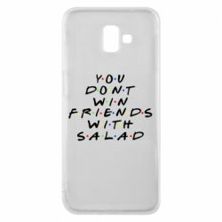 Чохол для Samsung J6 Plus 2018 You don't friends with salad