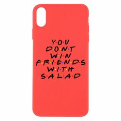 Чохол для iPhone X/Xs You don't friends with salad