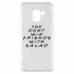 Чохол для Samsung A8 2018 You don't friends with salad