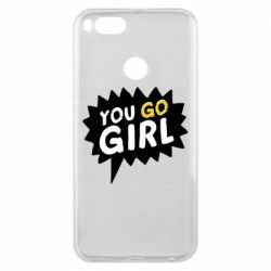 Чехол для Xiaomi Mi A1 You go girl