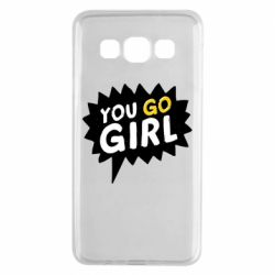 Чехол для Samsung A3 2015 You go girl