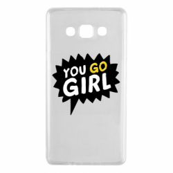 Чехол для Samsung A7 2015 You go girl