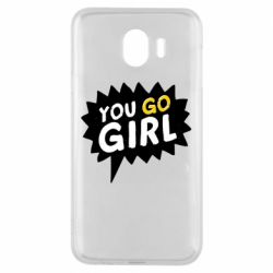 Чехол для Samsung J4 You go girl