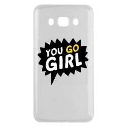 Чехол для Samsung J5 2016 You go girl