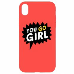 Чехол для iPhone XR You go girl