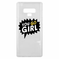 Чехол для Samsung Note 9 You go girl