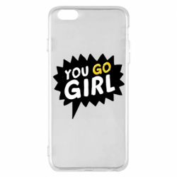 Чехол для iPhone 6 Plus/6S Plus You go girl