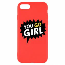 Чехол для iPhone 7 You go girl