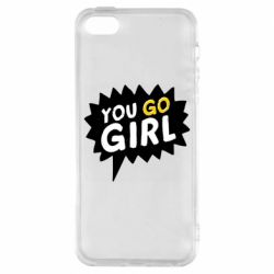 Чехол для iPhone5/5S/SE You go girl