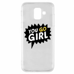 Чехол для Samsung A6 2018 You go girl