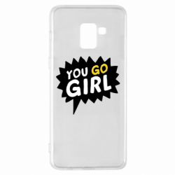 Чехол для Samsung A8+ 2018 You go girl