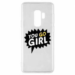 Чехол для Samsung S9+ You go girl