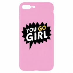 Чехол для iPhone 8 Plus You go girl