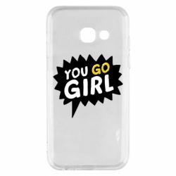 Чехол для Samsung A3 2017 You go girl