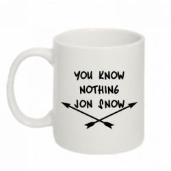 Кружка 320ml You know nothing jon snow