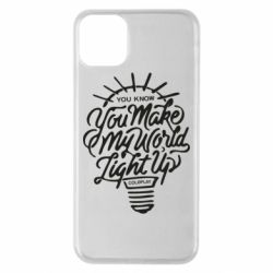 Чохол для iPhone 11 Pro Max You know your make my world light up coldplay