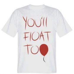 Футболка You'll float too Blood