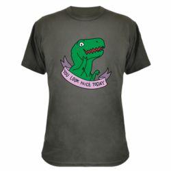 Камуфляжна футболка You look nice today